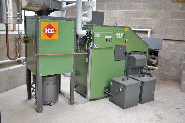 100 Kw Wood Chip Boiler At Hopton Sollars Farm