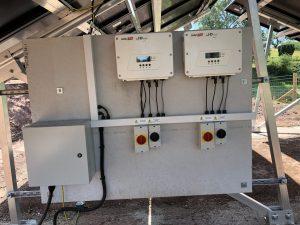 Ground Mount Array with 2 x Tesla Powerwall 2 Batteries -