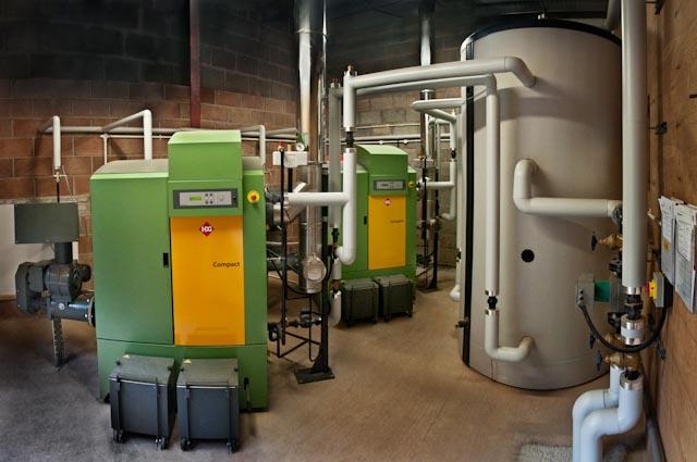 Whitfield House boiler room 2 - Efficient Energy Centre