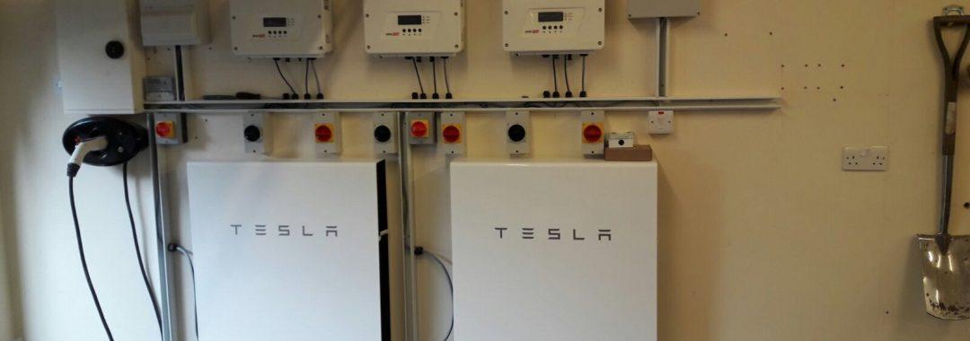 Tesla Powerwall 2 >> 12 6 Kw In Roof Solar Array With 2 X Tesla Powerwall 2 Batteries