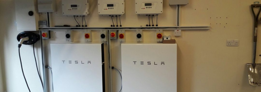 12 6 Kw In Roof Solar Array With 2 X Tesla Powerwall 2